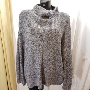 Phillip Lim Marled Mohair Cowl Sweater